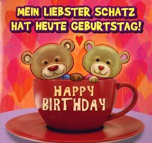 Geburtstagskarte Mit Musik 3868b 006 Mein Liebster Schatz