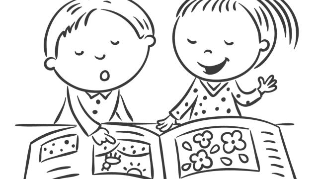 Desenhos Para Colorir Criancas 1