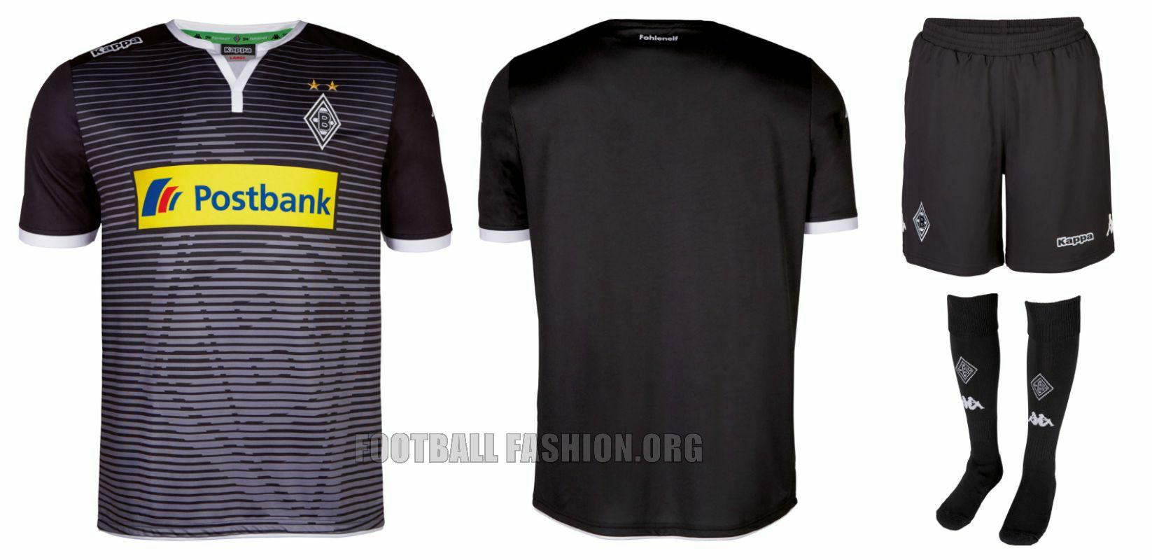 Borussia Mönchengladbach 2015 16 Kappa Away and Champions League ... 86aad7bf691ea