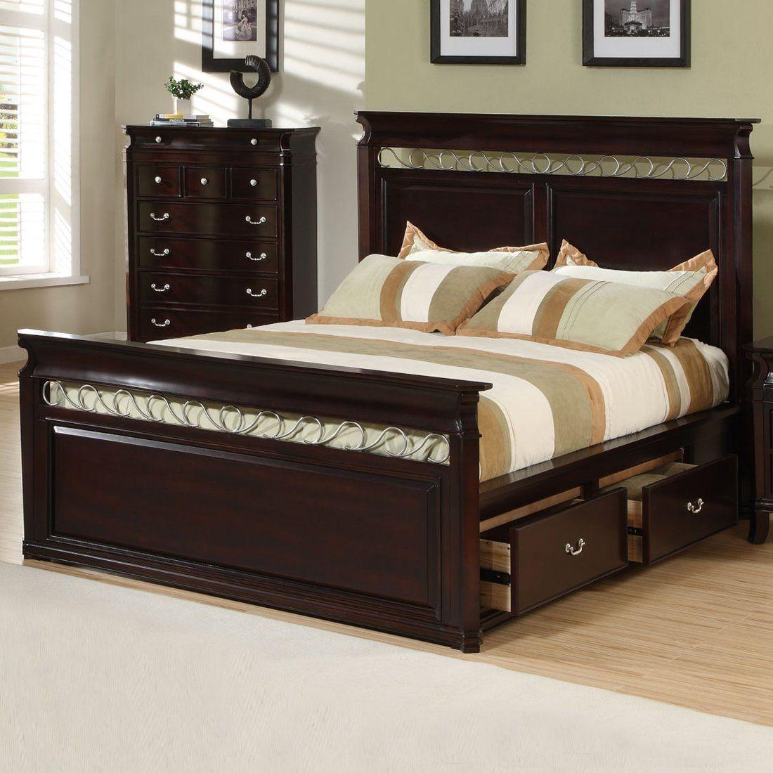 Coaster Fine Furniture Manhattan Storage Bed - Home ...
