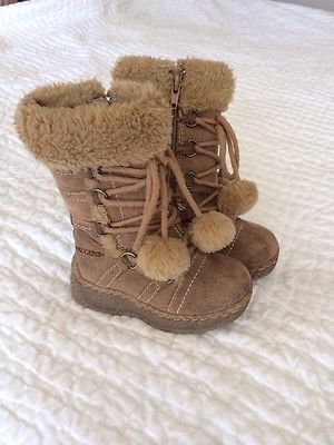 ebb2534c8348e ends 10 28 Sprockets Toddler Girls Boots Size 6 So Cute!!!!