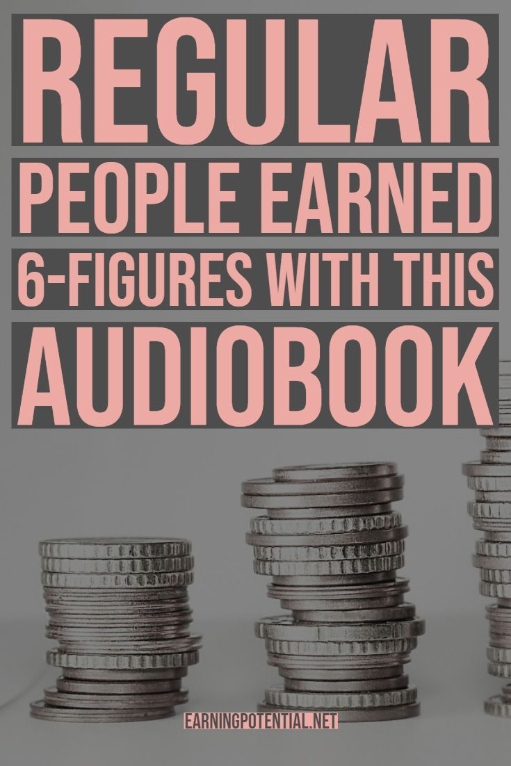 Regular People Earned 6-Figures With This Audiobook -