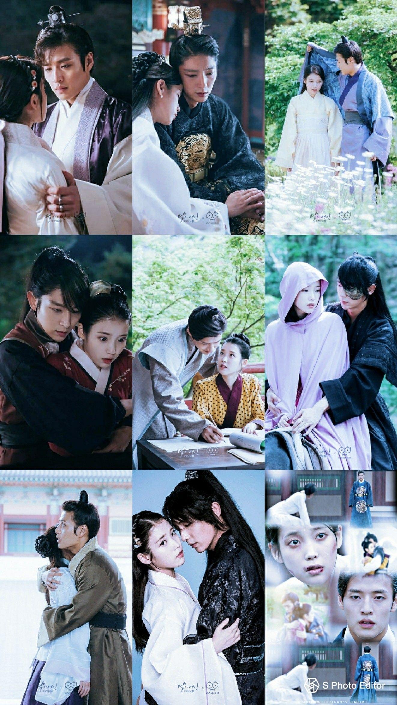Wallpaper Moon Lovers Kore Dramalari Drama
