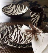 Zebra Kitchen Set