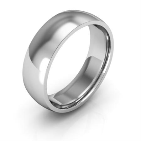 Cobalt Chrome 6mm Half Round Comfort Fit Men S Women S Wedding Bands Mens Wedding Rings Gold Plain Wedding Band Mens Wedding Rings