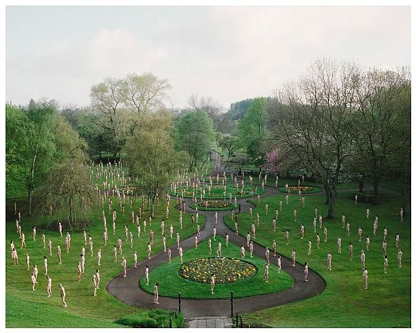 """""""Salford 1 (Peel Park) 2010"""", Salford, Manchester, England. Commissioned by the Lowry Art Gallery (10th anniversary), 12-26 Sept 2010."""
