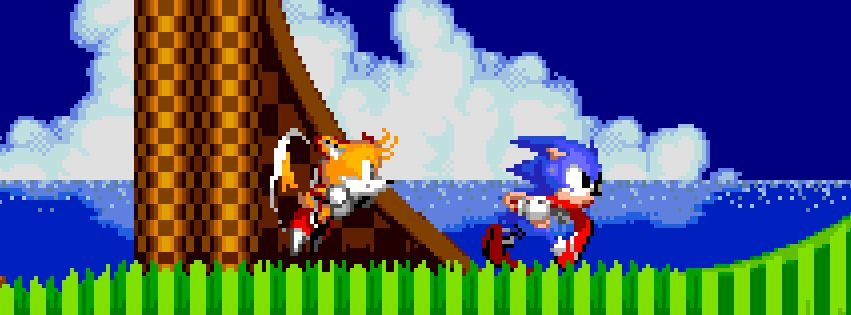 Sonic The Hedgehog 2 Fb Cover Fb Covers Facebook Cover Sonic