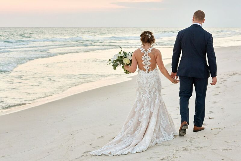 Cotton Candy Skies Sunset in 30a Sunset wedding Wedding ...