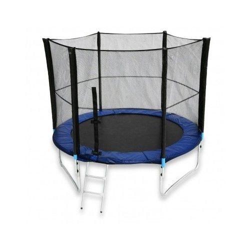 Trampoline  New Net Ladder Rain Cover Garden Kids Mat Exercise Outdoor Patio BBQ