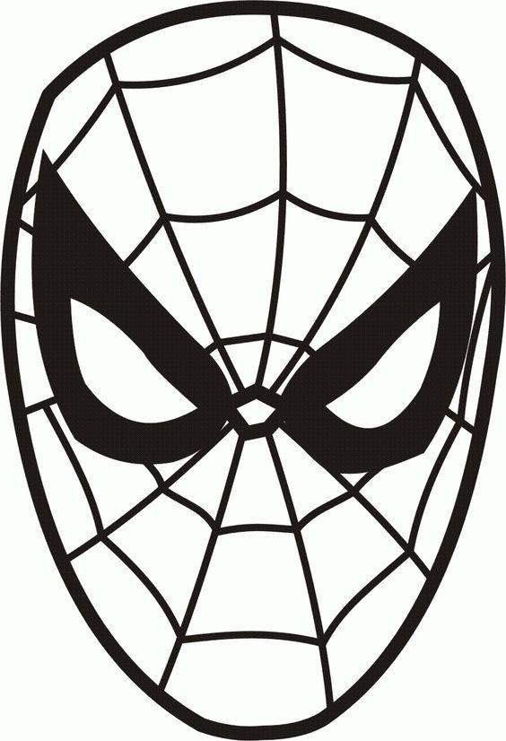 kleurplaten zwarte spiderman