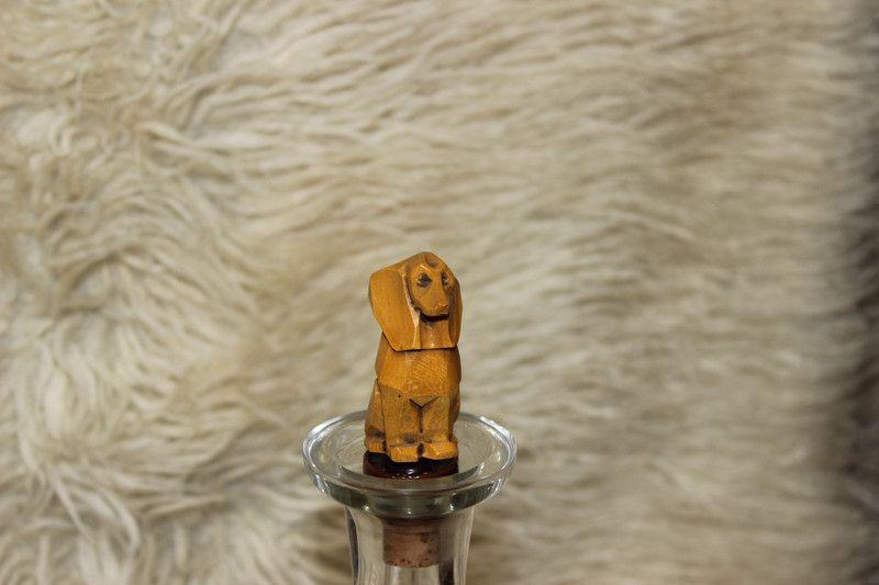 Weiteres Vintage Zierkorken Ausgiesser Dackel Hund Holz Ein Designerstuck Von Manuelas Allerlei Shop Bei Dawanda Dackel Hund Dackel Vintage
