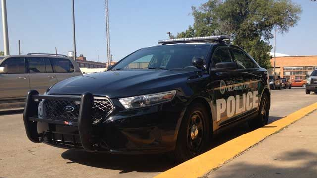 Okc Police Show Off Newly Re Designed Marked Police Cars Police Cars Ford Police Police