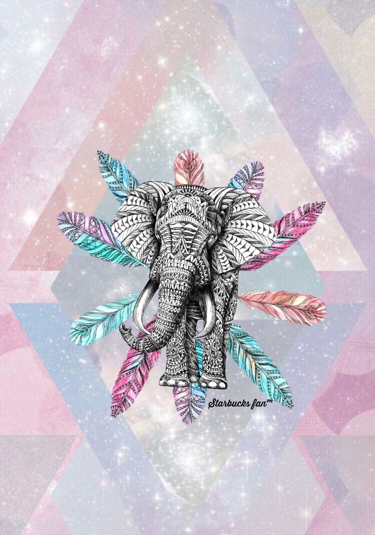Wallpaper iphone love in 2019 elephant wallpaper - Elephant background iphone ...