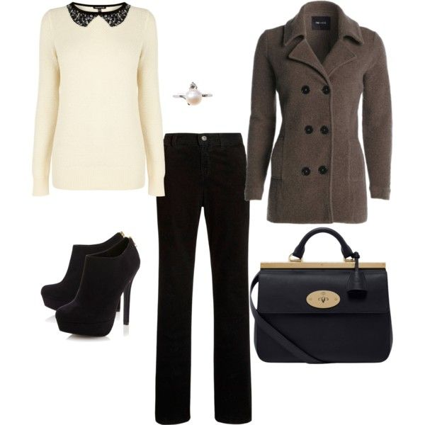 Work outfit by stylemotivation on Polyvore featuring polyvore, fashion, style, Warehouse, NIC+ZOE, John Lewis, Head Over Heels by Dune and Mulberry