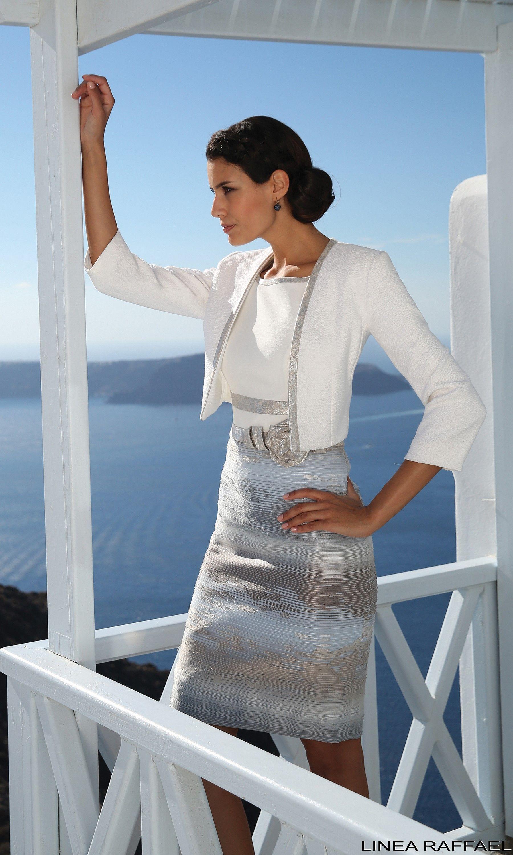 Linea Raffaelli cruise collection 16-17, set114 -jacket 161-772-01 ...