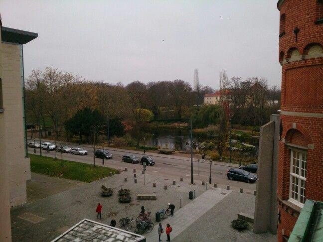 Udsigt fra Stadsbiblioteket i Malmø