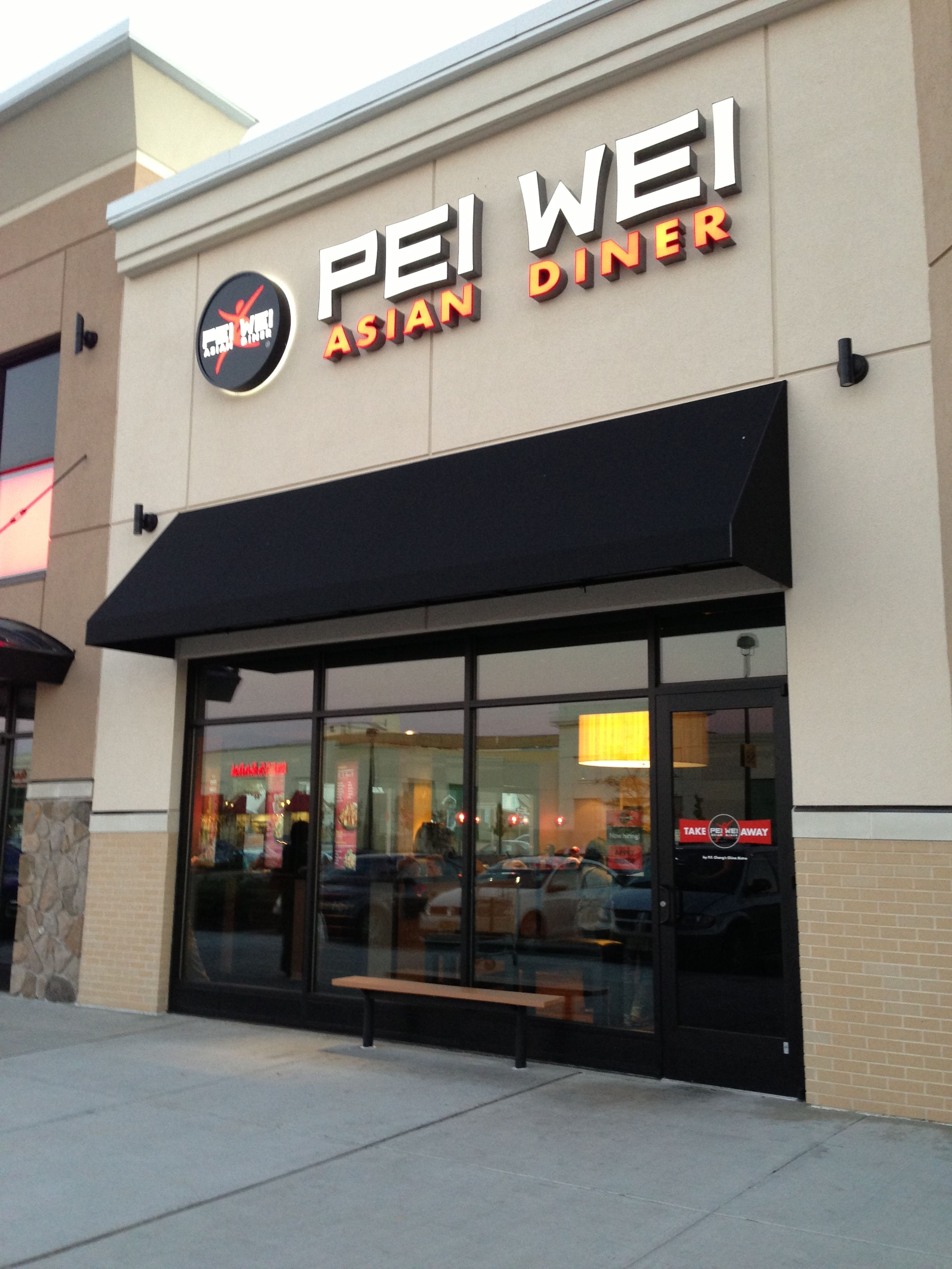 Pei Wei Asian Diner In Paramus Nj At Bergen Town Center