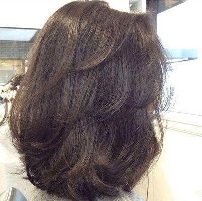 50 Best Medium Length Hairstyles For Thin Extremely Fine Hair Gaya Rambut Medium Gaya Rambut Pendek Ide Gaya Rambut