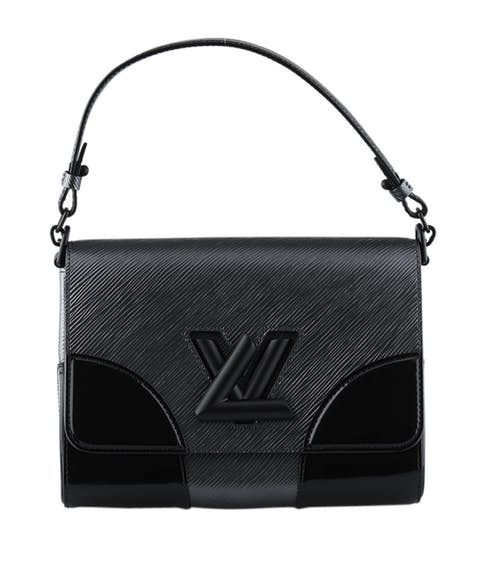 0ba0d0841f2b Louis Vuitton Twist Mm Black   Grey Epi Leather Crossbody Bag ...
