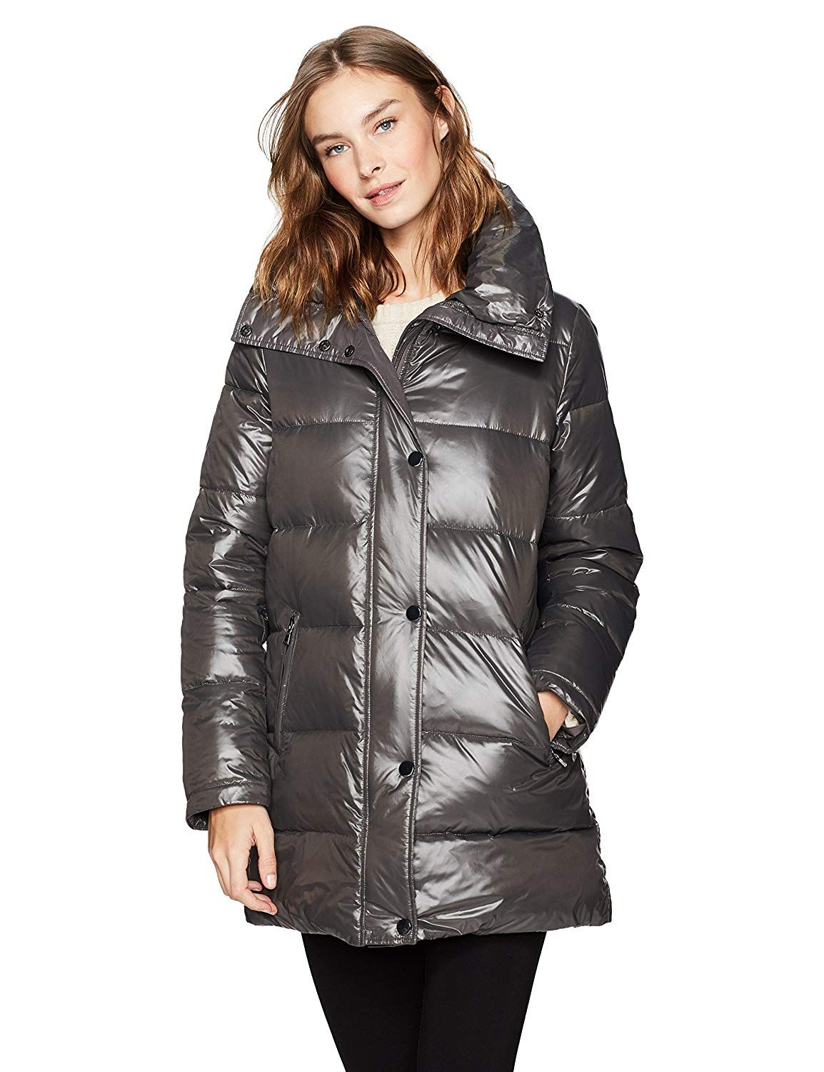 dc3fa544441 Haven Outerwear Women s Mid-Length Quilted Puffer Coat