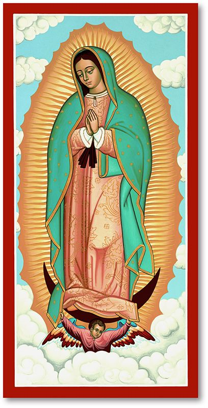 Our Lady of Guadalupe Icon -   13 beauty Icon art ideas
