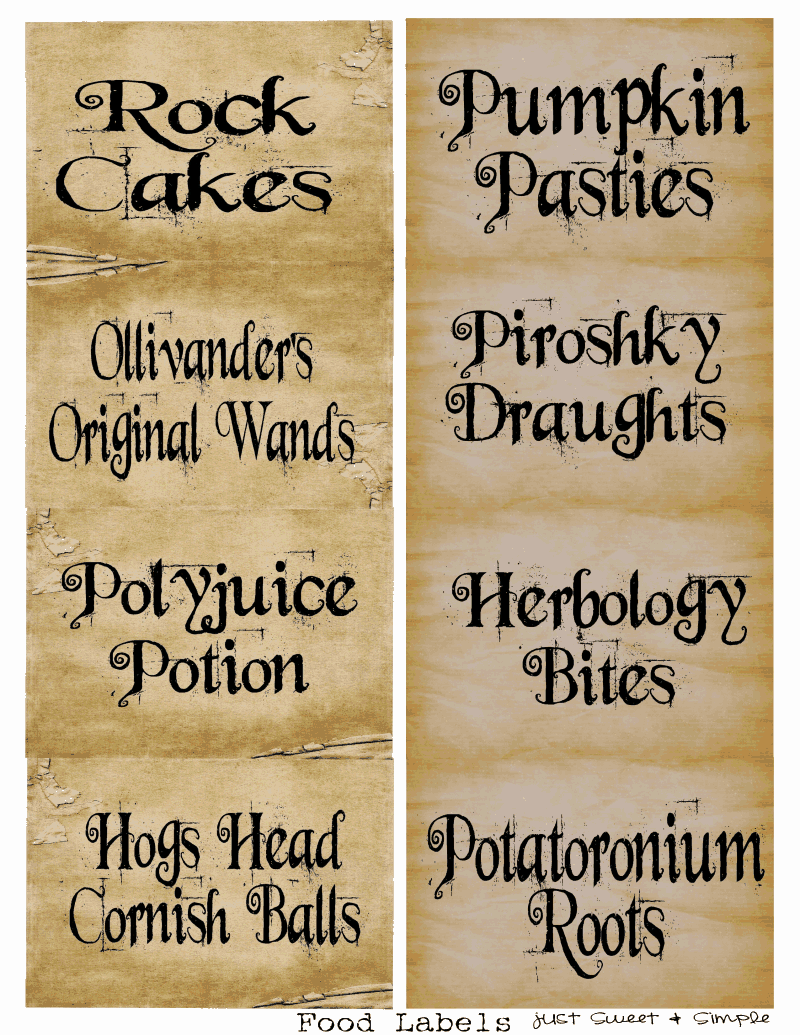 It's just a photo of Striking Harry Potter Printables Pdf