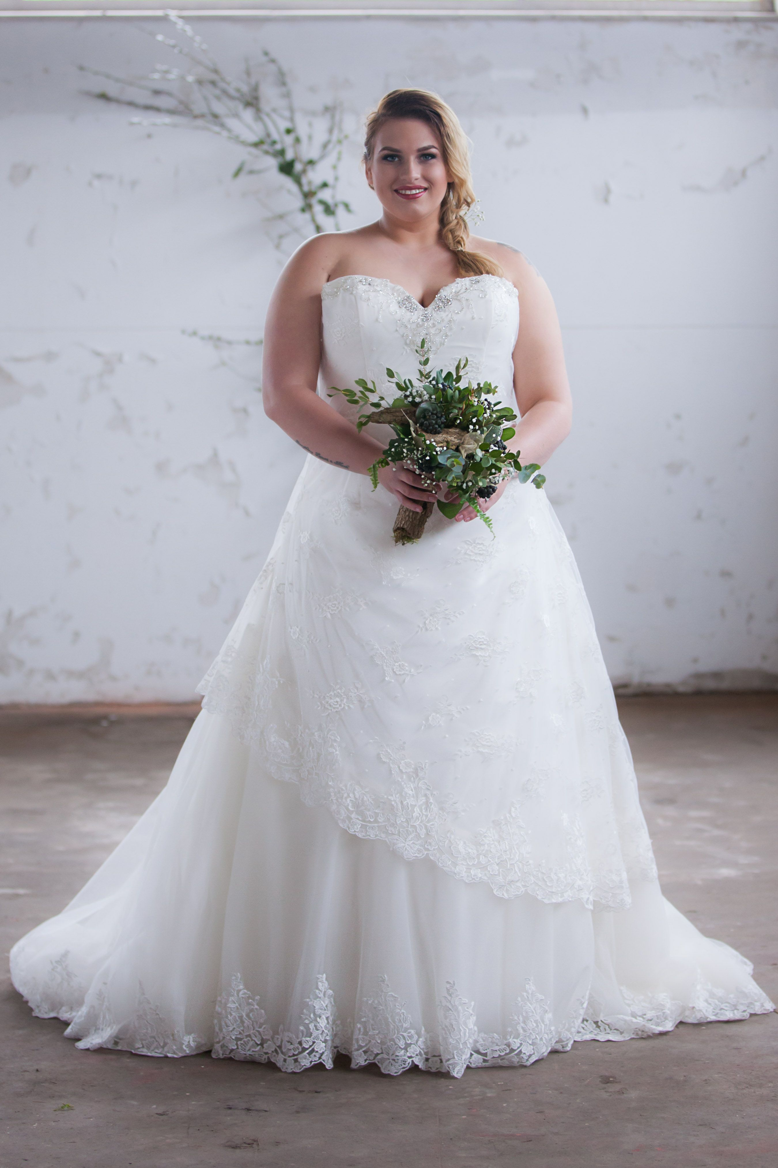 Our brand new, plus size wedding gowns will soon be available for ...