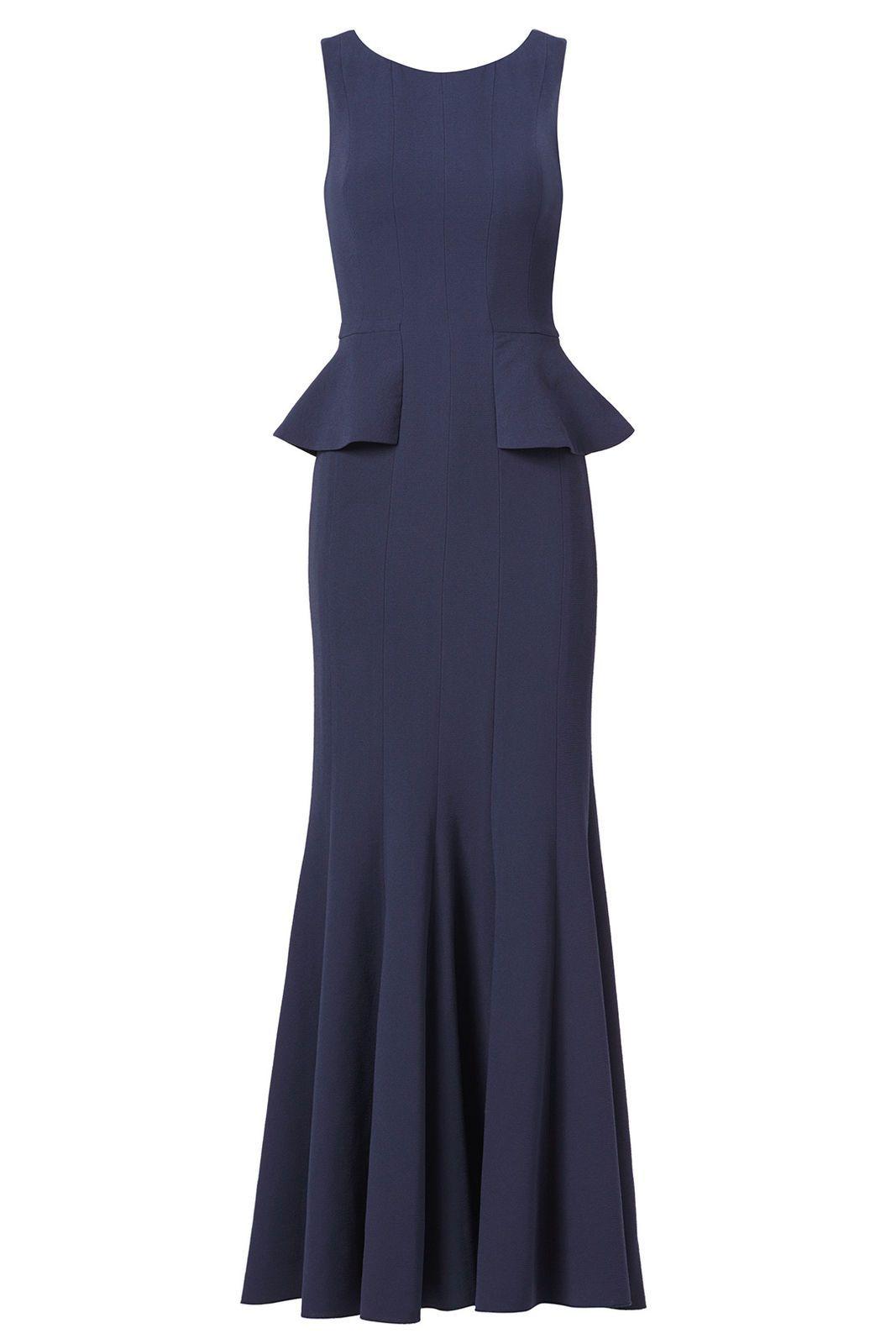 Cool great bcbgmaxazria navy blue womenus size peplum seamed