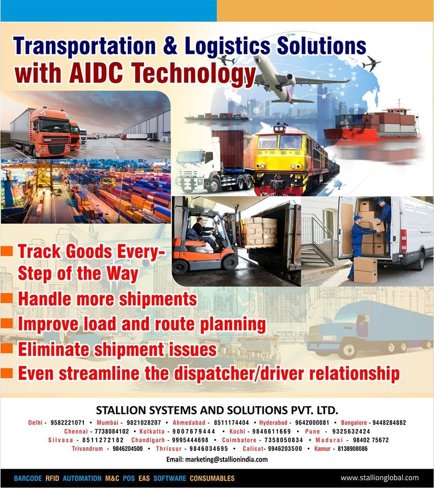 Stallion Group Provides Solutions For Transport And Logistics With The Help Of Automatic Identification And Data Captur Warehouse Management Warehouse Management System Supply Chain Management