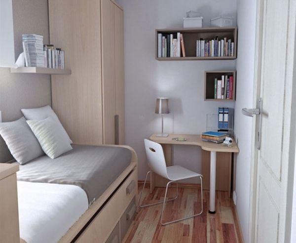 Möbel Für Kleine Räume möbel für kleine räume heller holzton eckschreibtisch zukunftige