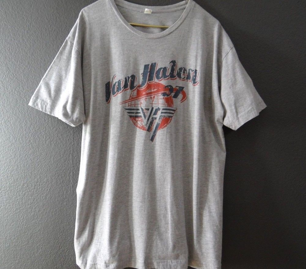 Van Halen 07 World Tour T Shirt Mens Size Xxl Fashion Clothing Shoes Accessories Mensclothing Shirts Ad Ebay Link Tour T Shirts Shirts Mens Shirts