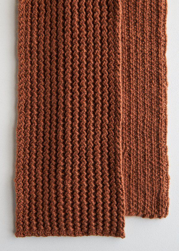 Rick Rack Scarf in Worsted Twist | Purl Soho | Knitting | Pinterest