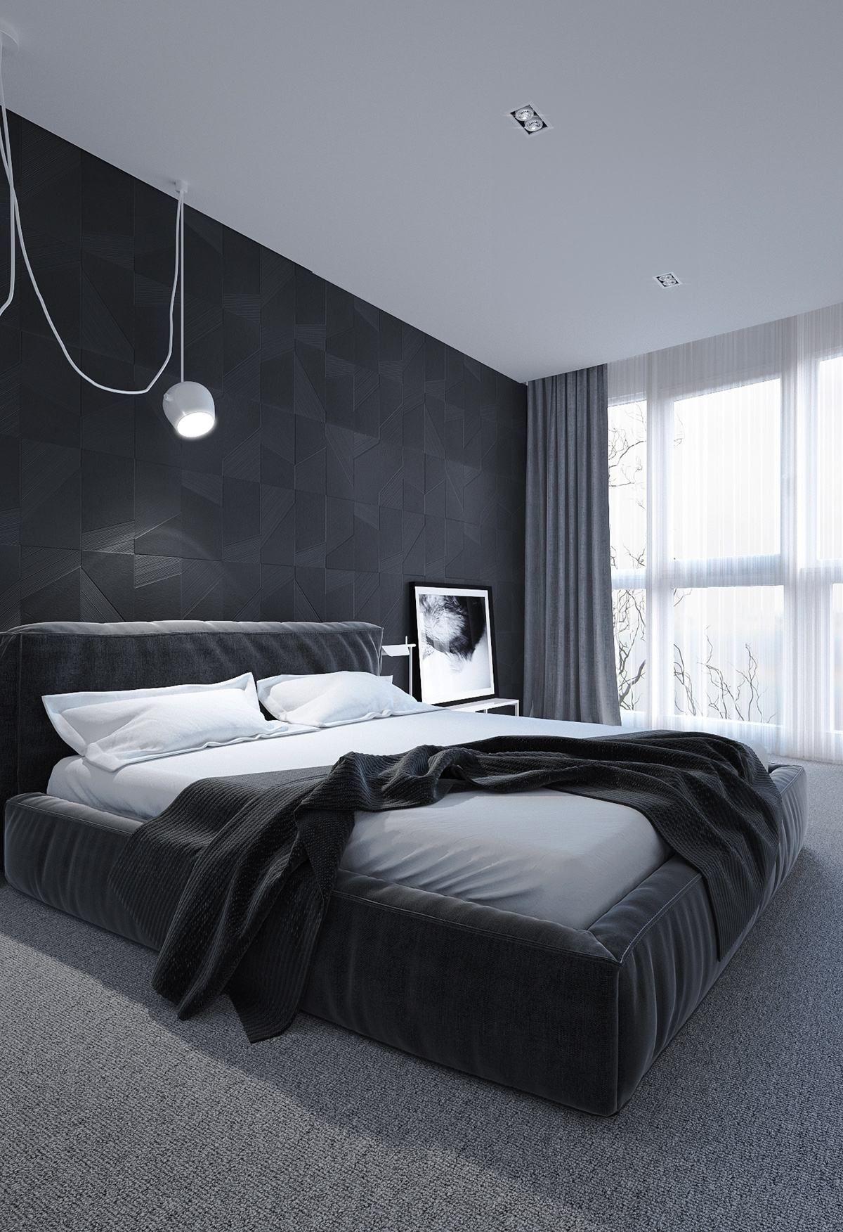 Wie man Inspiration in deine Träume mit dunklem Schlafzimmer holt - Dekoration ideen