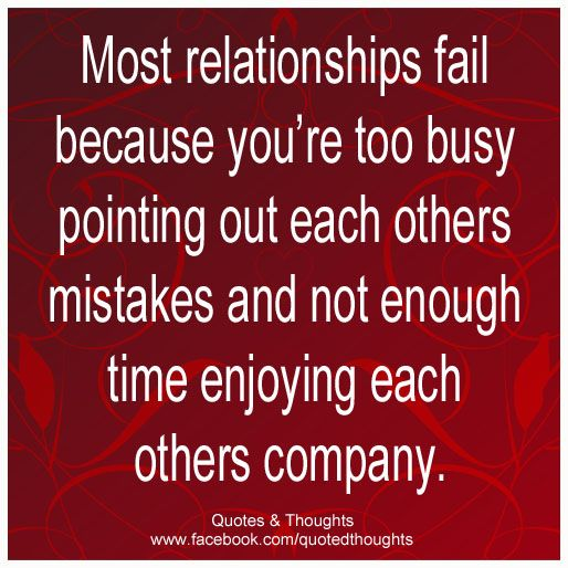 Love Is Not About How Many Days: Most Relationships Fail Because You're Too Busy Pointing