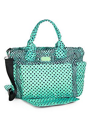 72eb5615931e Marc by Marc Jacobs Dusty Jade Eliz-a-baby Diaper Bag