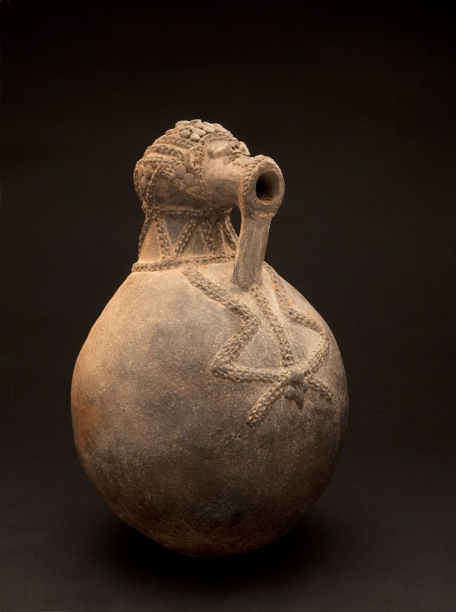 Spirit vessel, Ga'anda peoples, Nigeria, Before 1980, Fowler Museum at UCLA, Museum Purchase, X2008.32.1