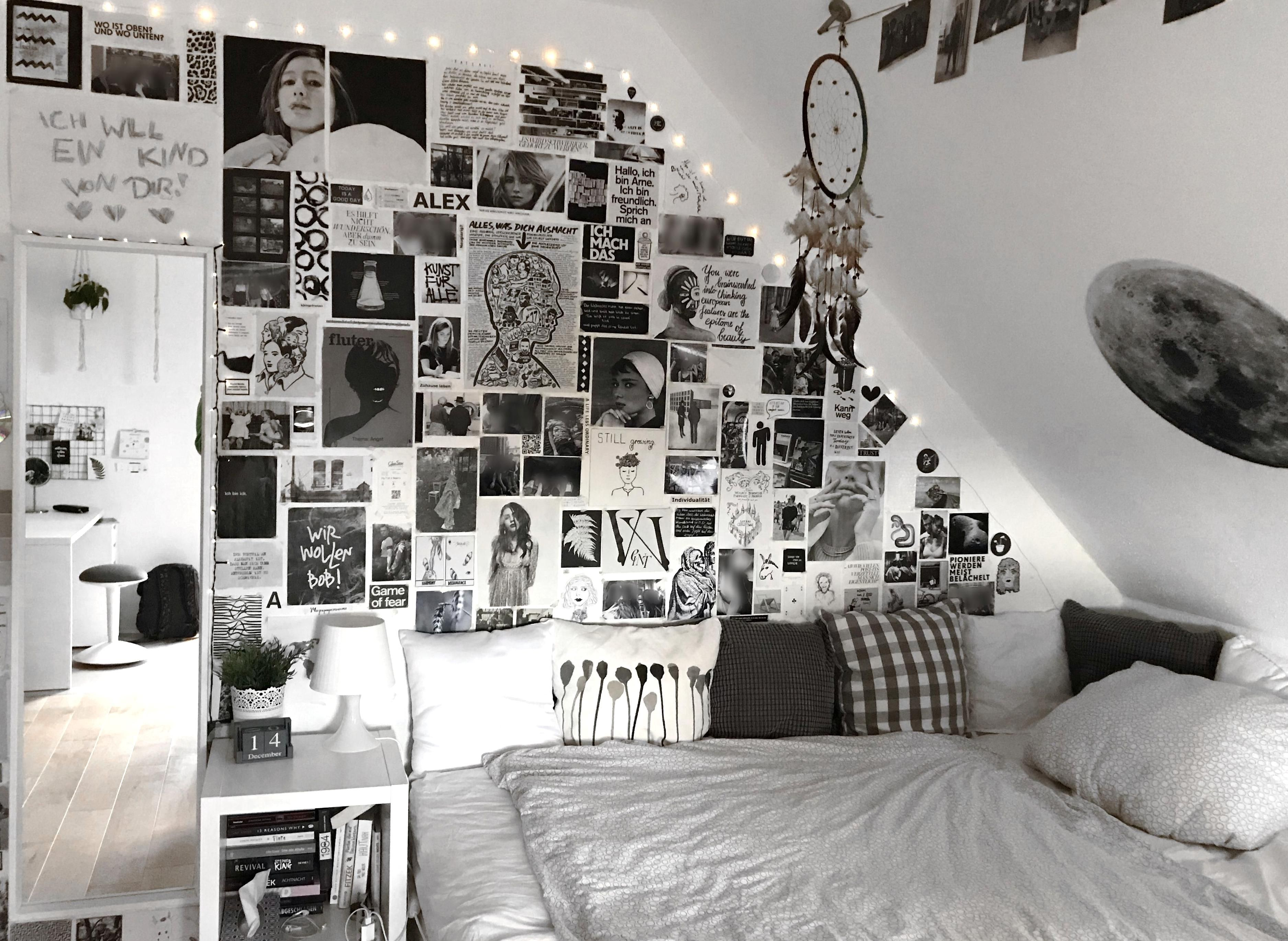 Pin By Yasmin Kamora On My Collections In 2020 Black Room Decor Bedroom Ideas For Small Rooms Cozy Black White Rooms