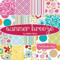 Summer Breeze Fat Quarter Bundle Bella Blvd for Riley Blake Designs