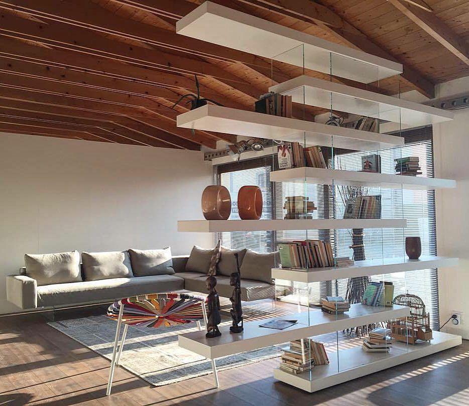 Lightness air sofa air bookshelf by lago lagodesign for Lago living room