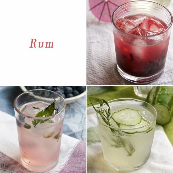 Rum Drinks, a round up