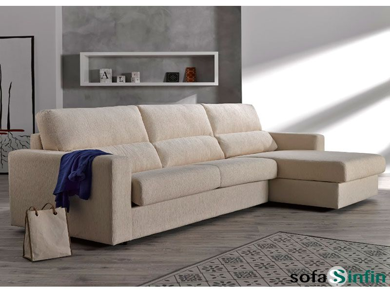 Sofa chaise longue medidas top croquis sofa zafiro with for Cama zafiro