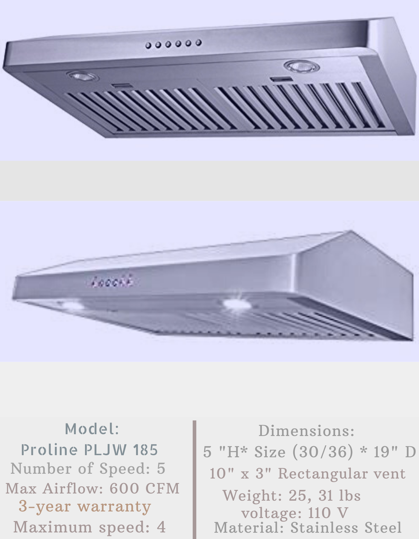 Best Ductless Range Hood In 2020 Detailed Reviews Buying Guide Proline Range Hood Ductless Range Hood Range Hood Reviews