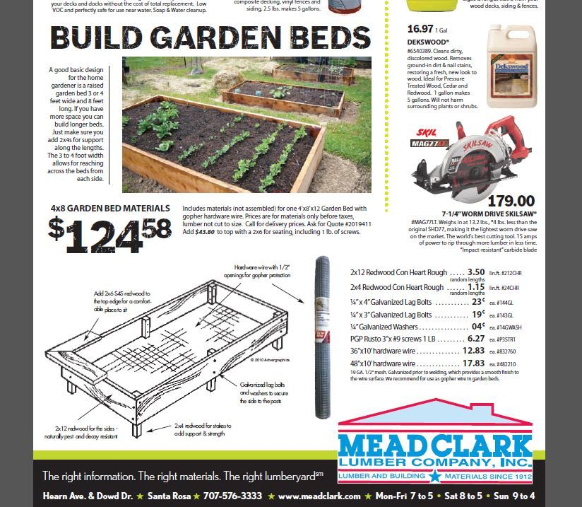 Great Redwood Raised Bed Garden Plan And Materials List