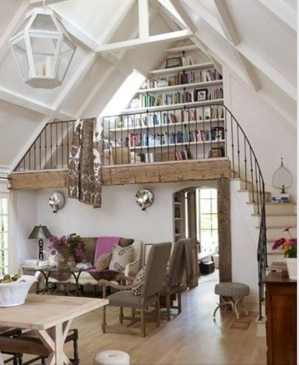 upstairs bookshelf