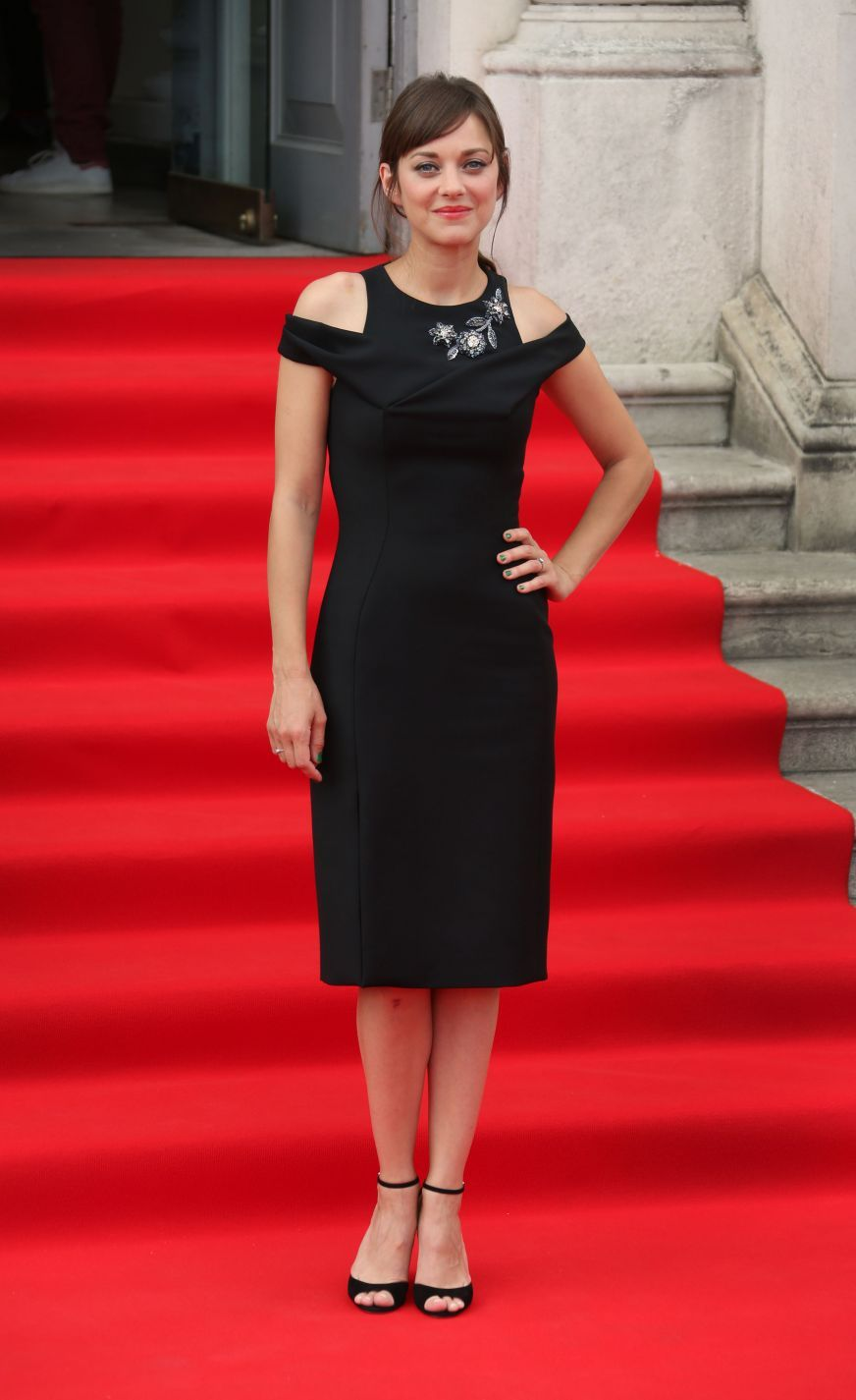 Marion Cotillard (in Dior) at Two Days, One Night UK Premiere