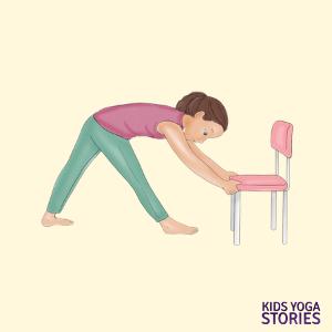 40 kidfriendly chair yoga poses