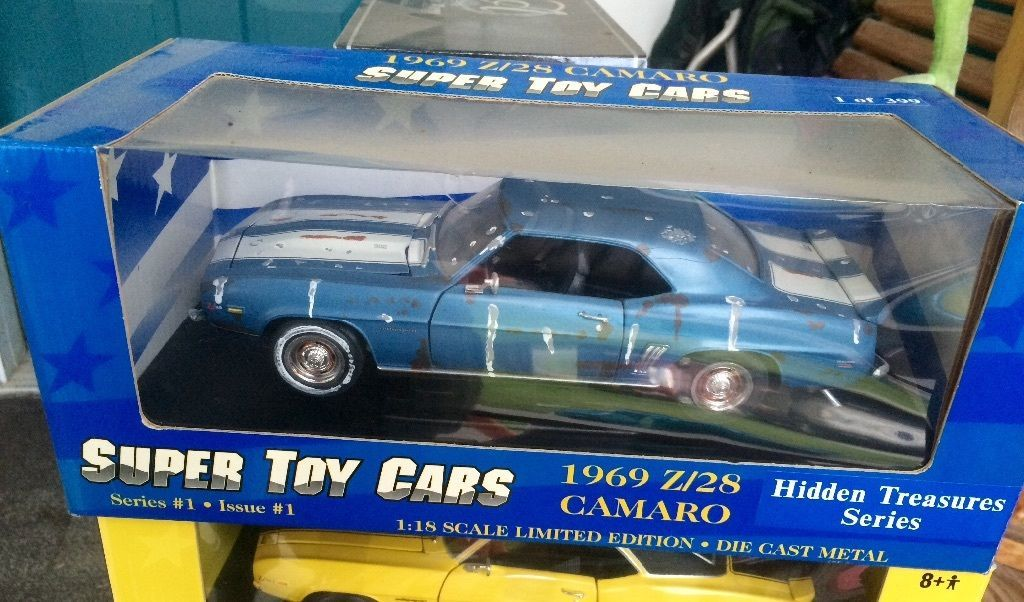 1 18 Ertl 1969 Z 28 Camaro OF 399 Barn Find