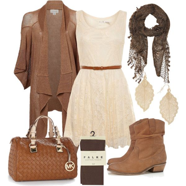 """""""Country Lace Fall Outfit"""" by natihasi on Polyvore"""