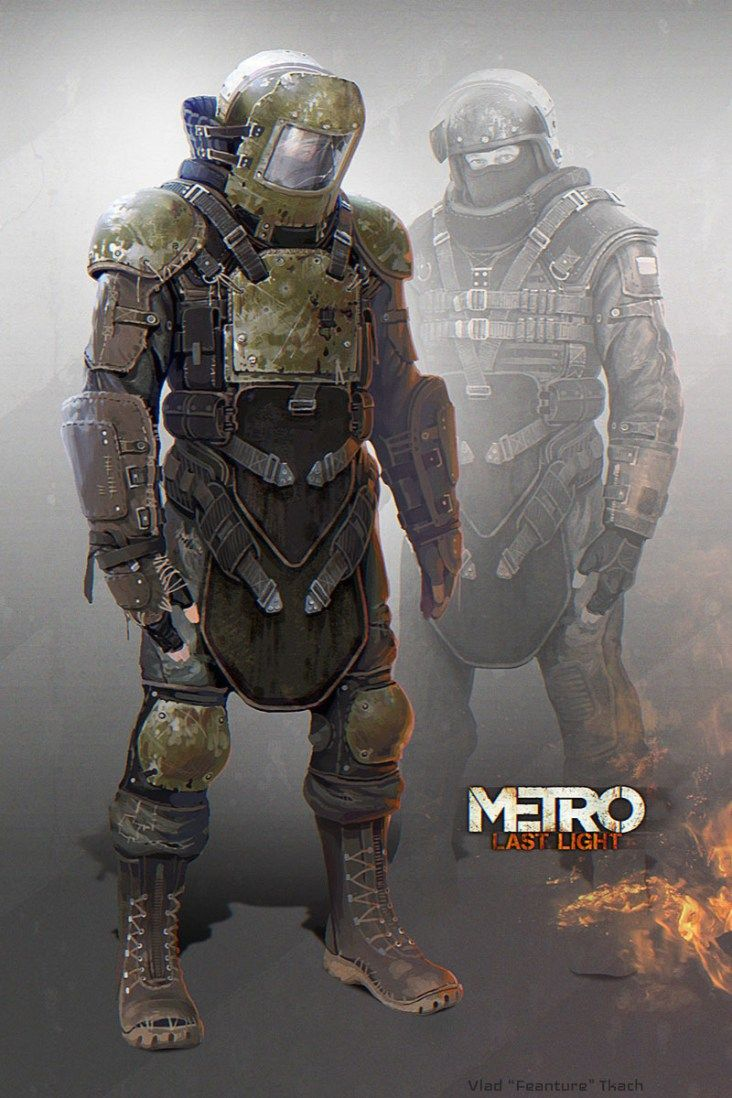 The Art Of Metro 2033 Last Light 7 Post Apocalyptic Art Metro Last Light Metro 2033