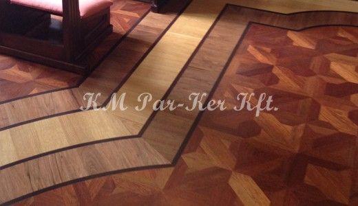 Wood Inlay Floor Parkett Parketta Wood Inlay Floor Intarzia